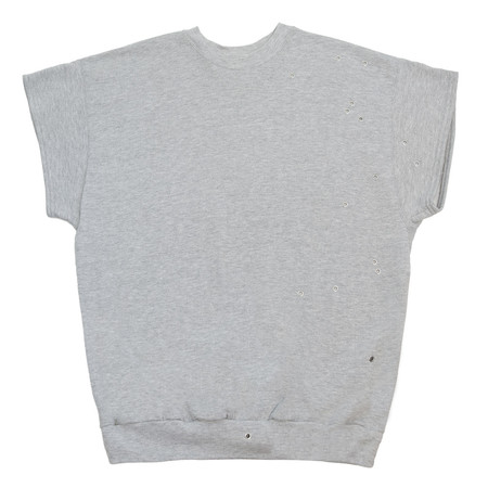 Slow and Steady Wins the Race Eyeleted Tee - Grey
