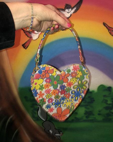 Cab Collection Heart Power Bag - flower