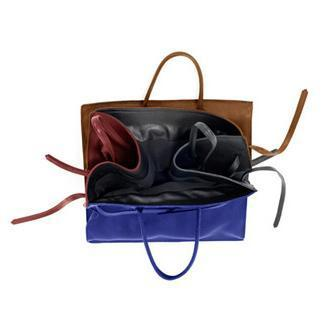 Four Sided Rectangular Bag in Four Colors