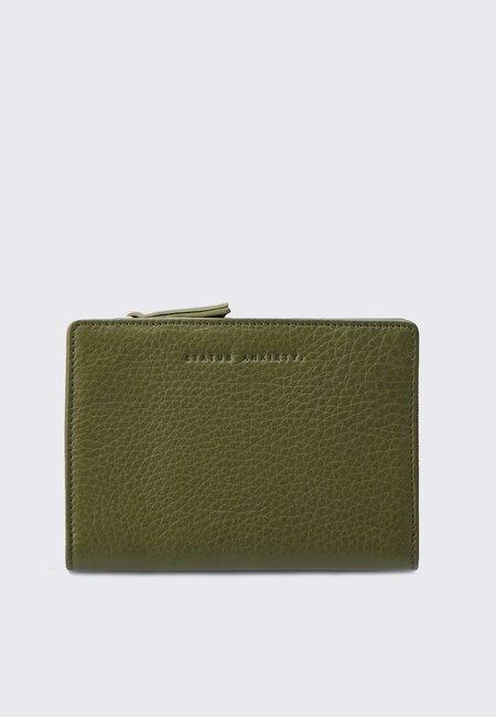 Status Anxiety Insurgency Wallet - khaki