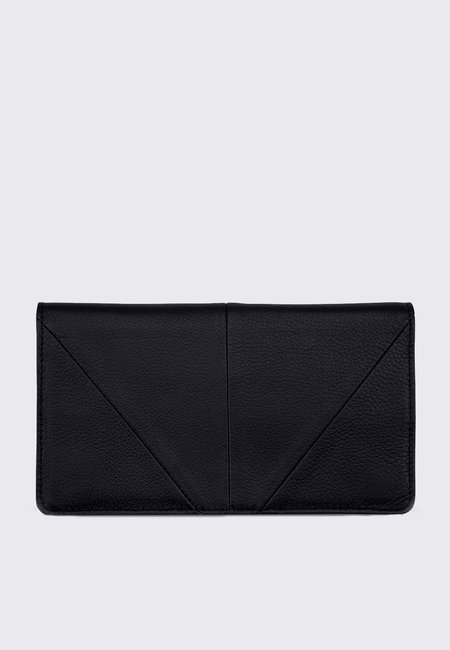 Status Anxiety Triple Threat Wallet - black