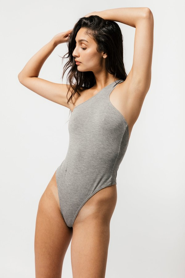 Mary Young Del Bodysuit - Mustard