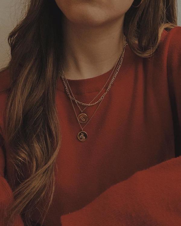 APSE ADORN Dvsas Yucca Necklace - Silver