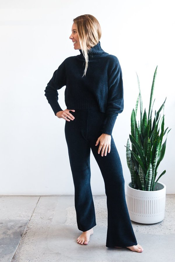 Paloma Wool Ares Sweater Pant - Navy