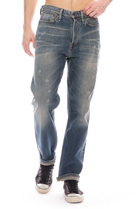 DENHAM Crop Drop Fit Jean - Medium Wash