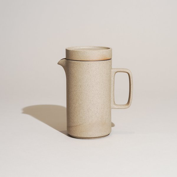 Hasami Porcelain Tall Teapot - Natural