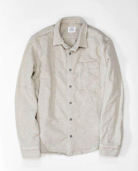 Homework Blanket Twill Overshirt - Grey