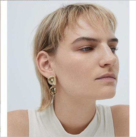 Jenny Bird Mithras Earrings - 14K Gold
