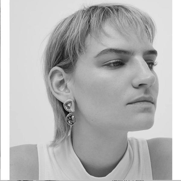 Jenny Bird Mithras Earrings - Sterling
