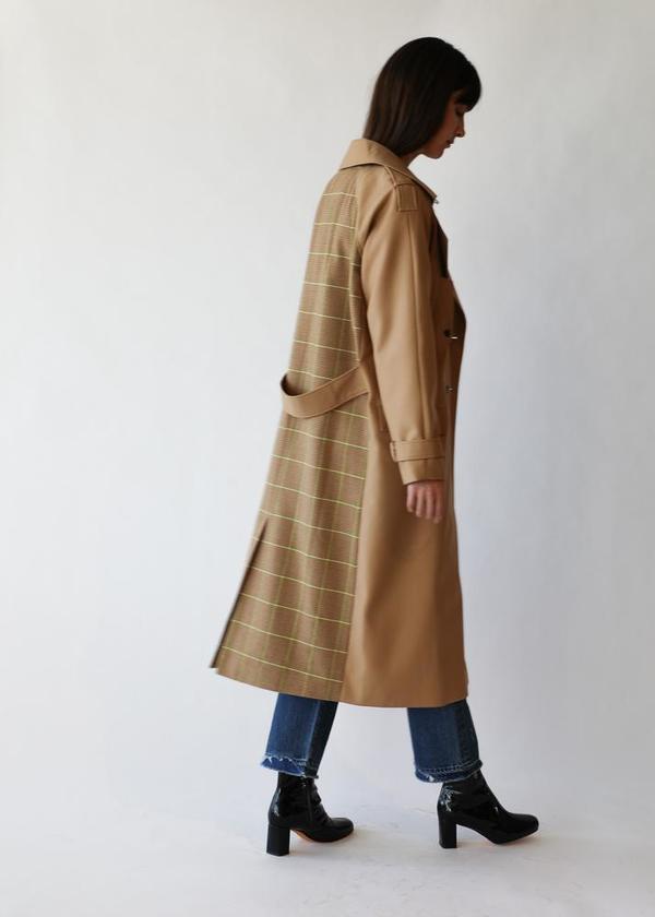 Birgette Herskind Rina Coat in Camel Checks