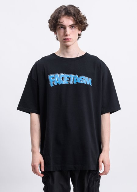 Facetasm Graffiti Logo T shirt - Black