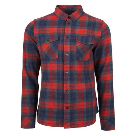 United by Blue Bridger Button Up - Red Rock