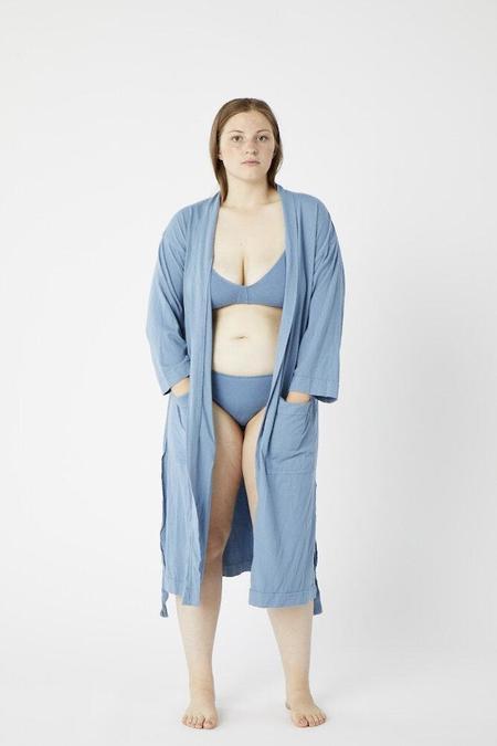 Pansy Robe - Azul