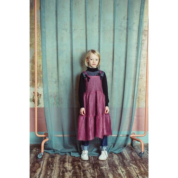 KIDS paade mode mohair dress vasillisa - old pink