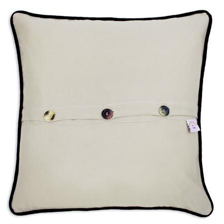 CATSTUDIO Hand Embroidered California Pillow