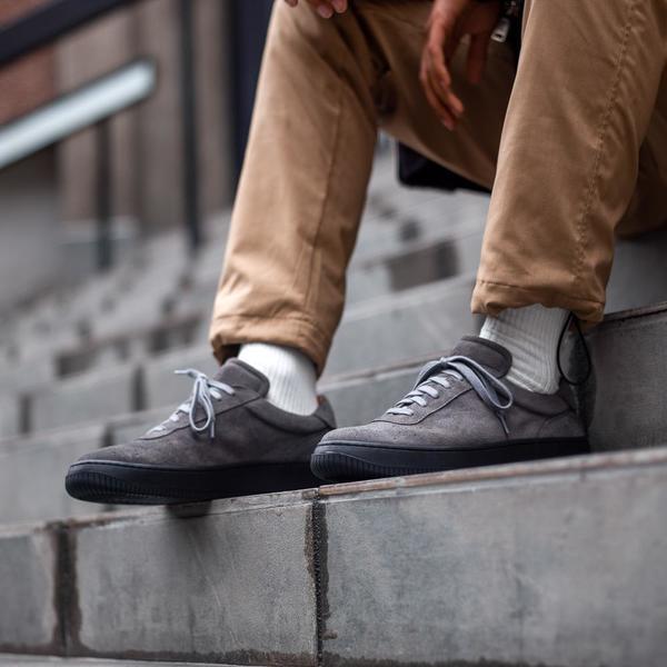 Unseen Footwear Clement Suede - Grey