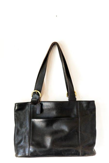 Vintage Mazzy Tote Bag - Black