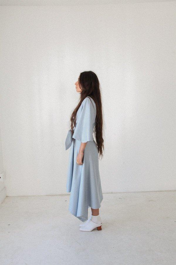 KkCo Handkerchief Dress - Ice