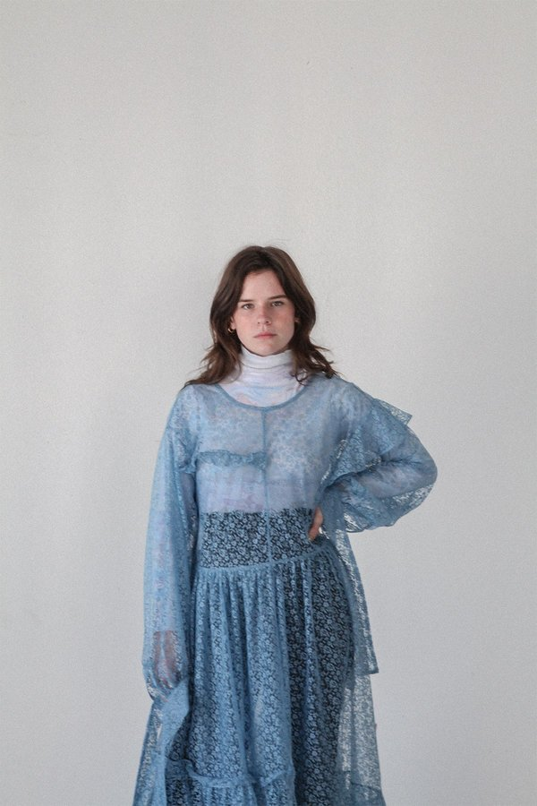 KkCo Nine Twenty-Seven Dress - Dusty Cloud