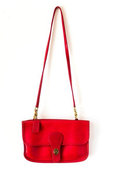 Vintage Sadie Bag - Red