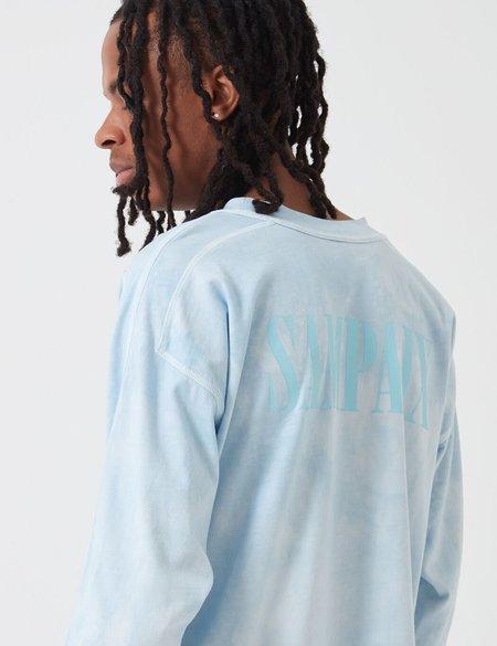 Sampaix Too Many Lies Long Sleeve T-Shirt - Bedroom Blue