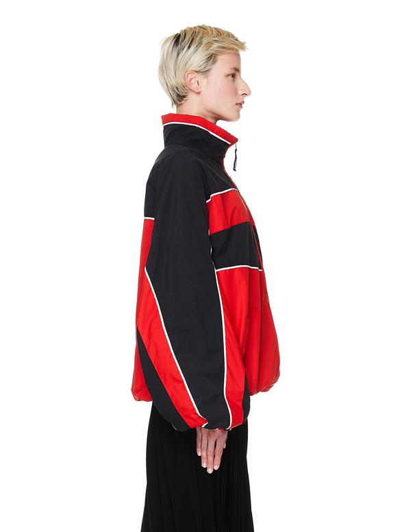 Vetements Track Jacket - black/red