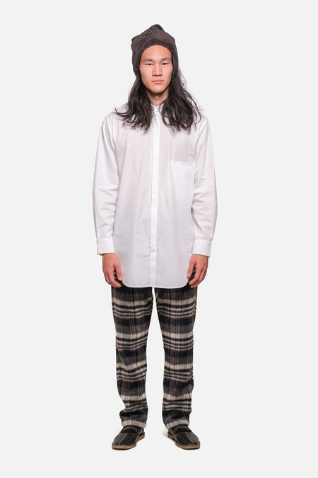 House of St. Clair SHOREDITCH TUNIC - WHITE POPLIN