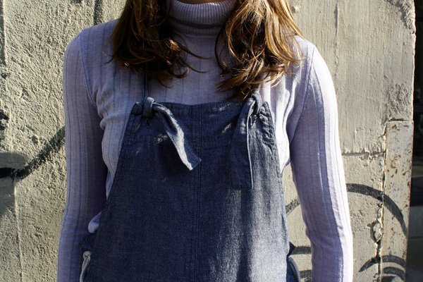 Myrtle Sloan Overalls - Chambray