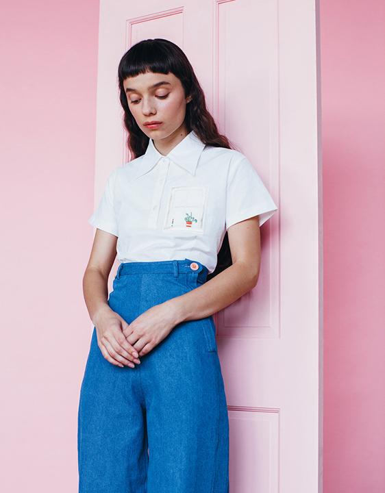 Samantha Pleet House Plant Shirt