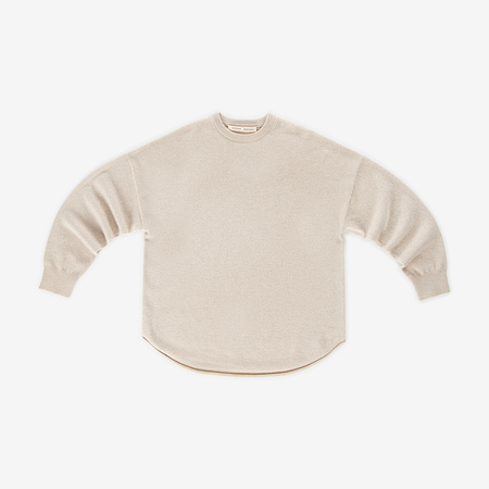 Extreme Cashmere Crew Hop Sweater - Latte
