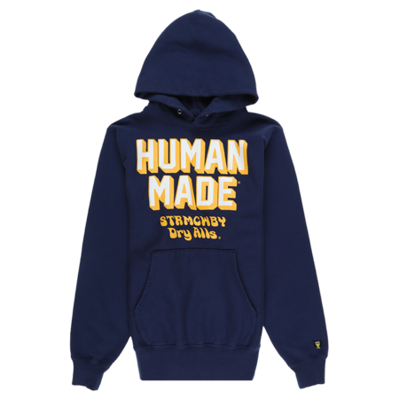 Human Made Pizza Hoodie - navy