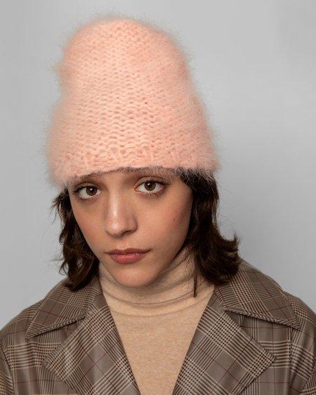 Clyde Mohair Hat - Peach