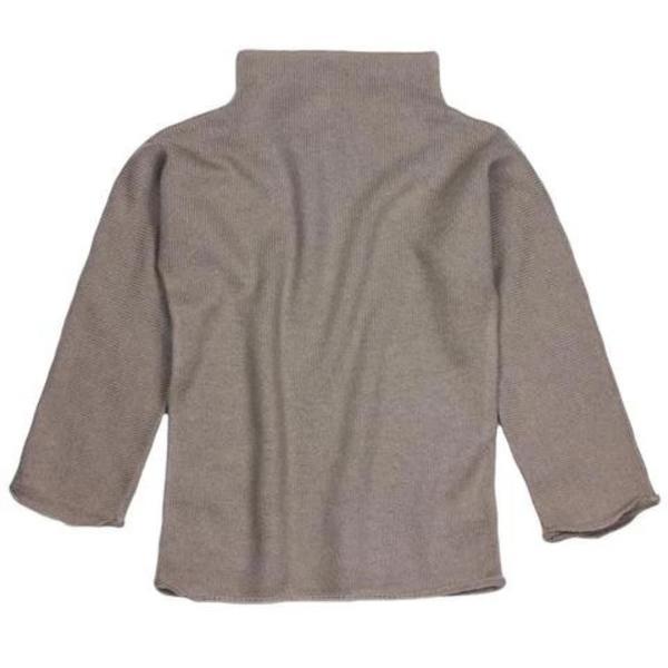 KIDS belle enfant cashmere funnel neck sweater