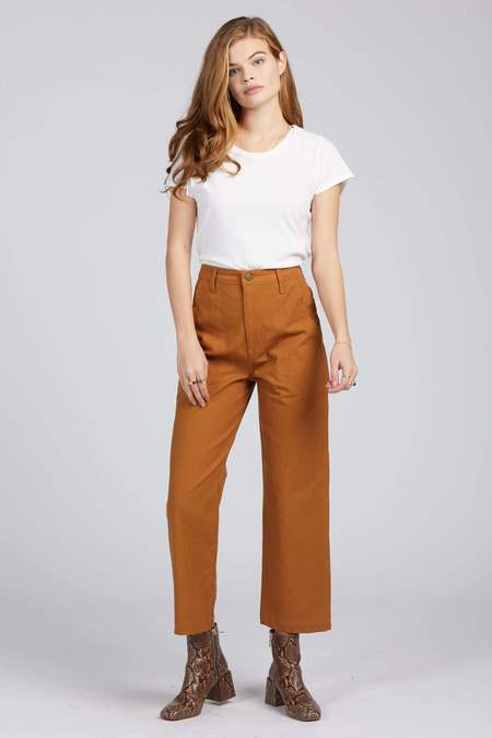 Lykke Wullf Montana Painter Pant - Honey