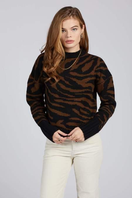 Brixton Zebra Claudia Sweater