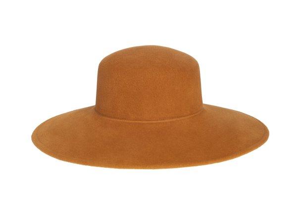 Clyde Wide Brim Pearl Hat - Kabocha