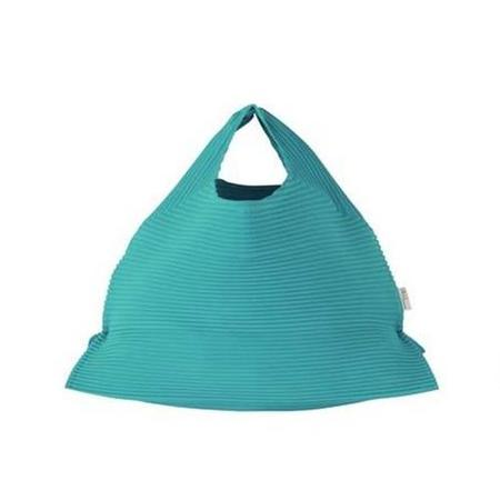 Issey Miyake Hex Pleats Bag - Aqua