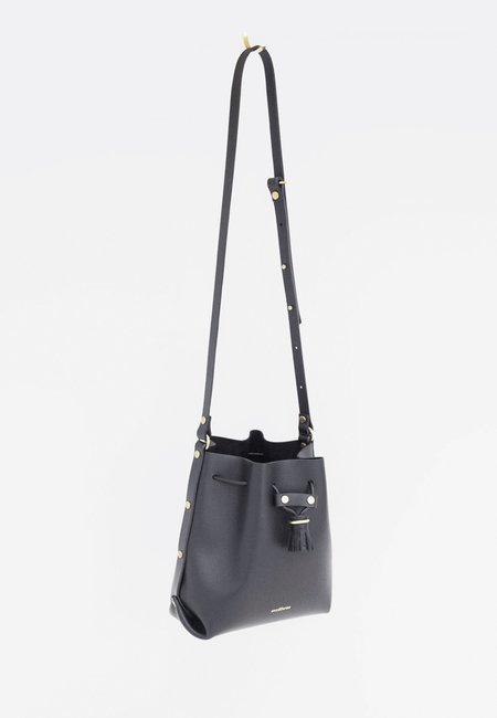 My Deer Fox Bucket B Bag - black
