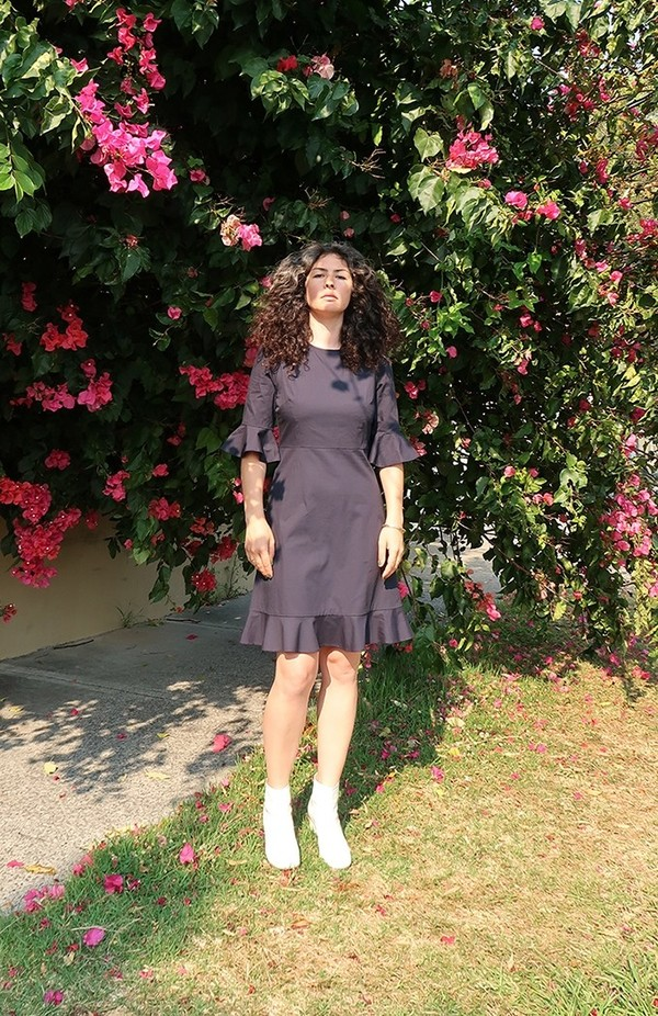 Again & Again The Midday Dress Organic Cotton - Navy
