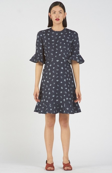 Again & Again The Midday Dress Organic Cotton -  Floral