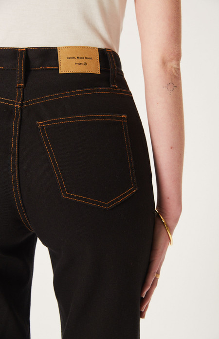 DENIM, MADE GOOD The Project 1 Jeans - Hemp Black