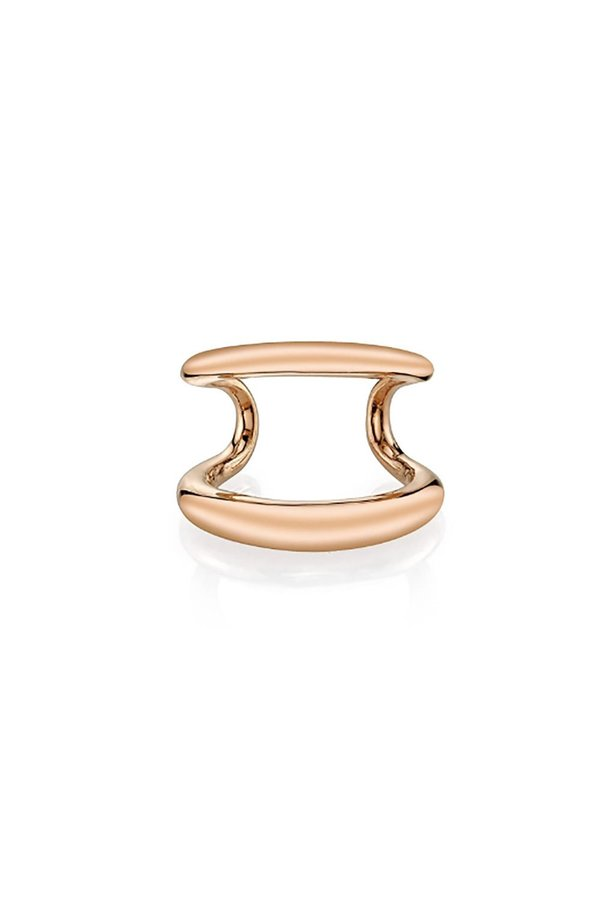 Gabriela Artigas Twin Tusk Ear Cuff - Rose Gold