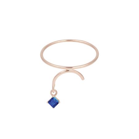 Tara 4779 Arc Ring - Sapphire