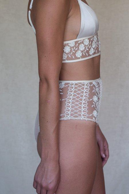 Angie Bauer Arlo Panties - Ivory