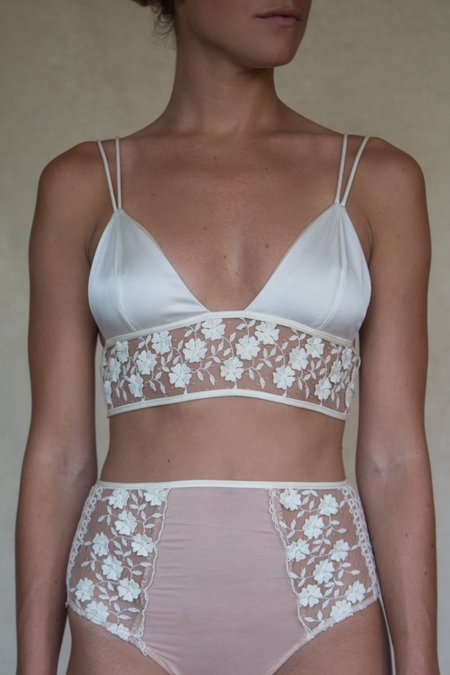 Angie Bauer Lucia Bralette - Ivory
