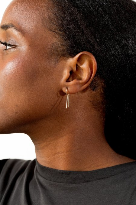 Jack + G Chime Earring - 14K Gold
