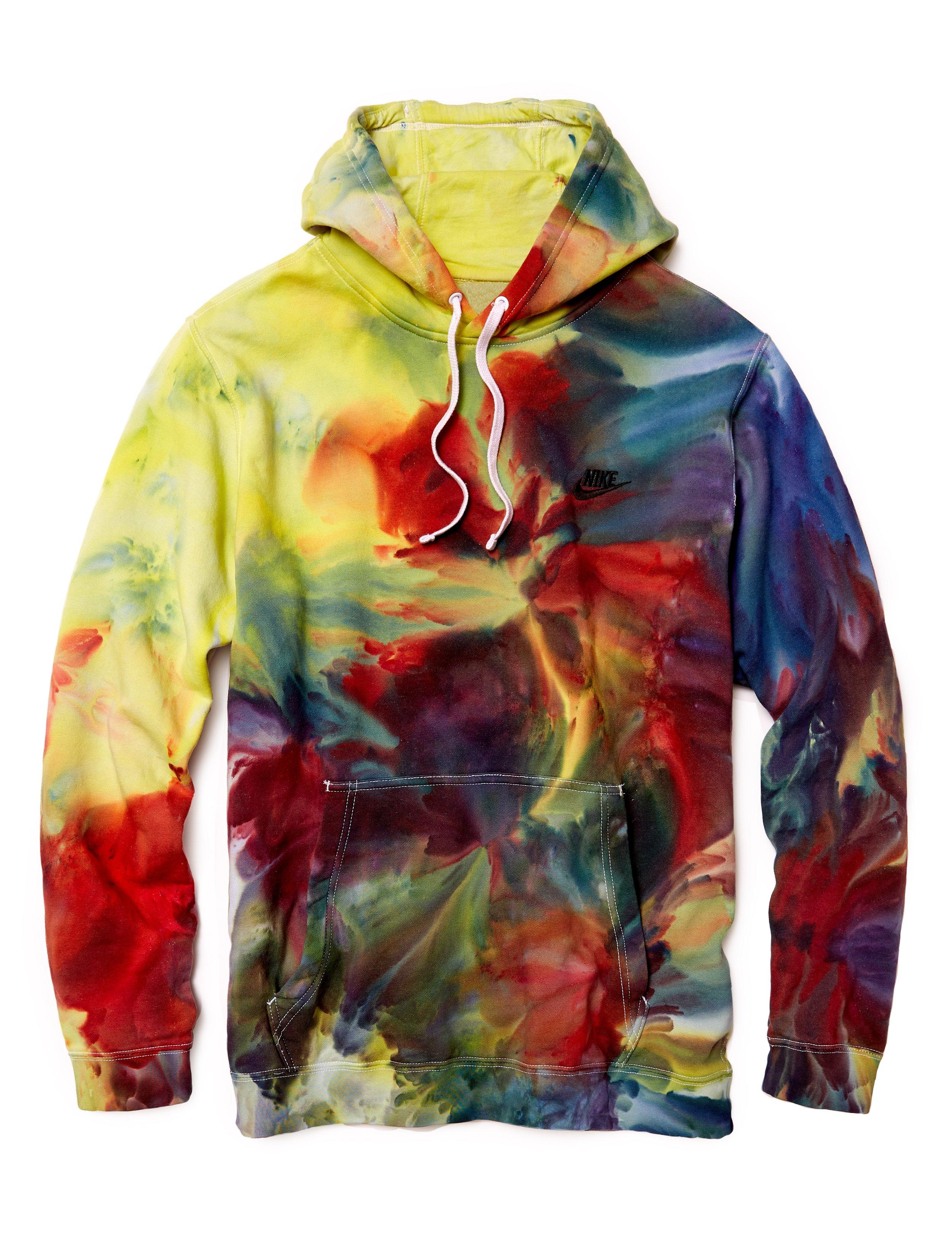 nike hoodie tie dye