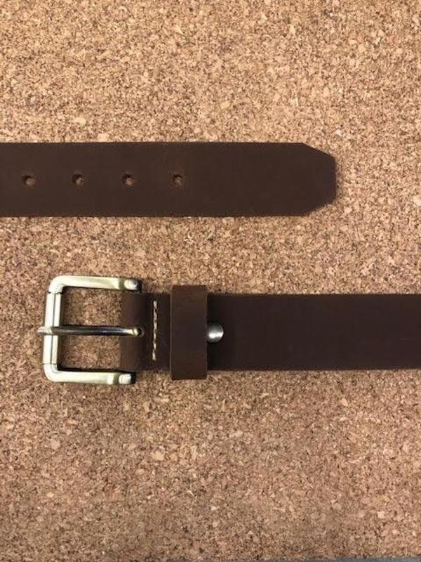 Lowell N.005 Belt - Brown