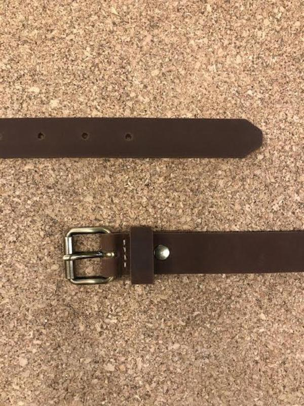 Lowell N.006 Belt - Brown