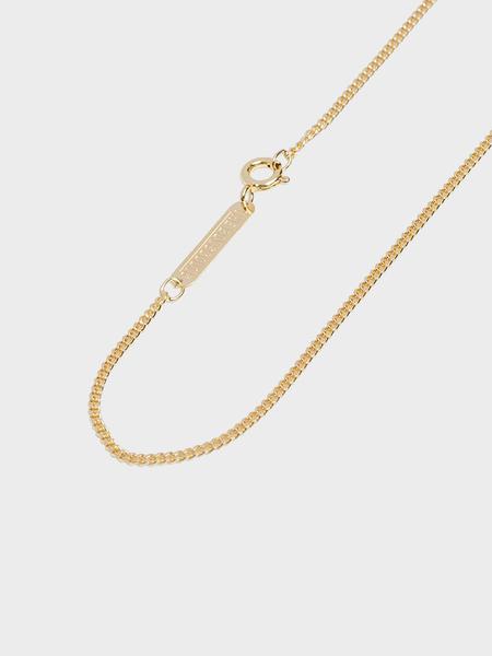 The Boyscouts 40cm Facet Cable Necklace - Gold